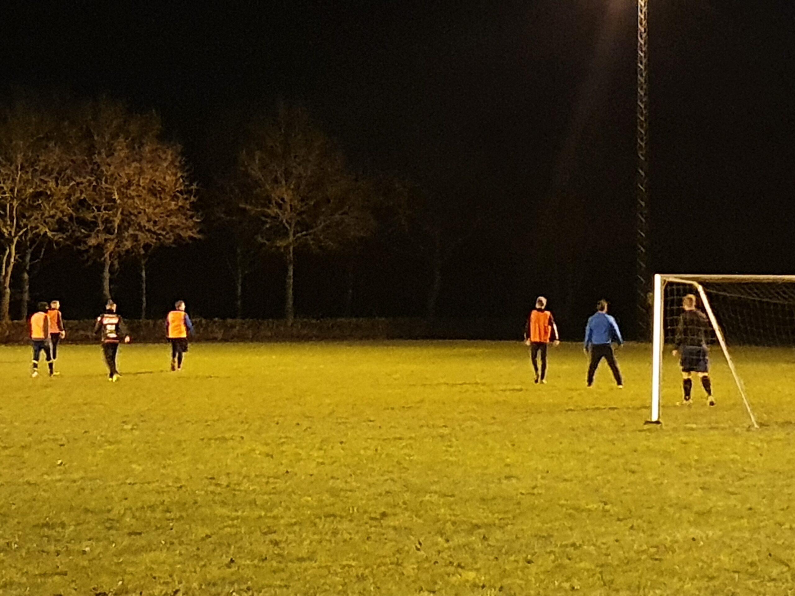 vinter træning i Linå med Silkeborg United fodboldklub